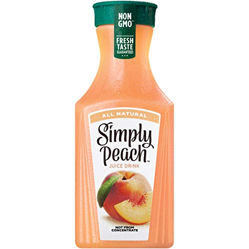 Simply Peach, 52 fl oz, Peach Juice Drink, Not from Concentrate