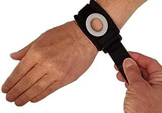 Bullseye Wrist Band (XS) - TFCC Wrist Brace, Support for Ulnar Sided Wrist Pain, DRUJ Instability - Fits Wrist Circ. 4