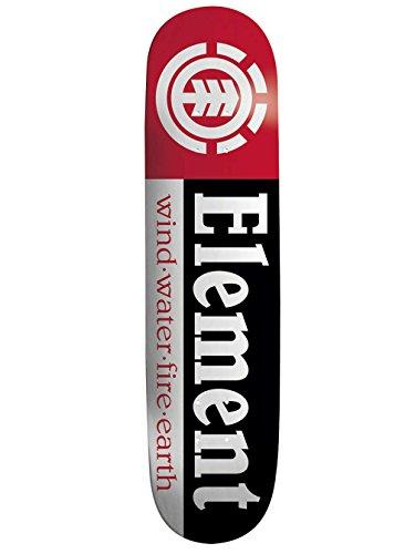 Element - Tavola da skateboard Section Black Shape 9, 7,75', Incolore,...