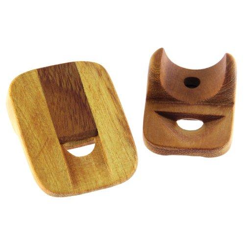 Nasenflöte aus Jackfruitholz