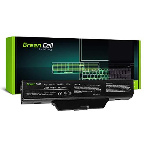 Green Cell® Standard Serie HSTNN-IB51 / HSTNN-LB51 / HSTNN-OB51 Batería para HP Compaq 550 610 615 6720s 6730s 6735s 6820s 6830s Ordenador (6 Celdas 4400mAh 10.8V Negro)
