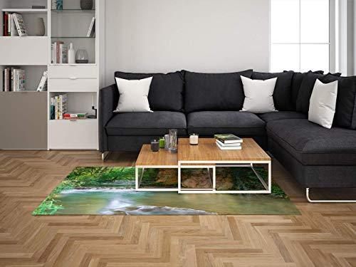 Oedim Alfombra Parque Zaragoza para Habitaciones PVC | 95 x 200 cm | Moqueta PVC | Suelo vinílico | Decoración del Hogar | Suelo Sintasol |