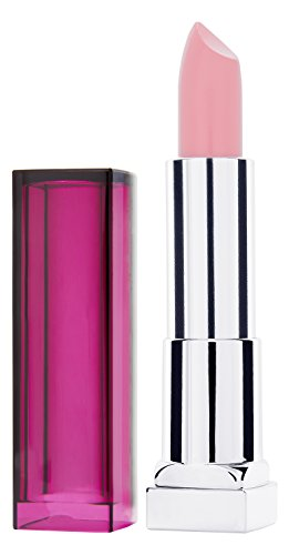Maybelline New York Make-Up Lippenstift Color Sensational Pearly Nudes Lipstick Zartes Pink, mit...