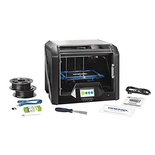 Dremel DigiLab 3D45 Award Winning 3D Printer w/Filament, PC & MAC OS, Chromebook, iPad Compatible, Network-Friendly, Built-in HD Camera, Heated Build Plate, Nylon, ECO ABS, PETG, PLA Print Capability