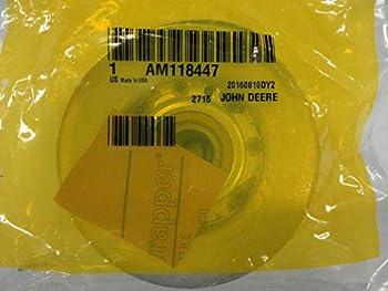 John Deere AM118447 Genuine OEM Vee Idler Pulley 44  Snow Blowers on 100 Series