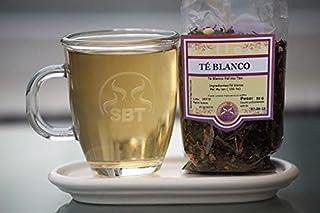 SABOREATE Y CAFE THE FLAVOUR SHOP Té Blanco Pai Mu Tan A Granel En Hoja Hebra Infusión Natural Bolsa 50 gr