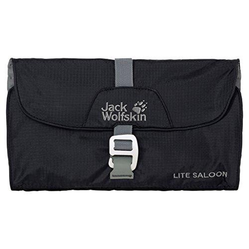 Jack Wolfskin Beauty case Lite Saloon, Nero (Black), Taglia unica