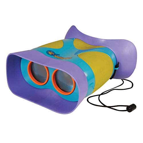 Educational Insights GeoSafari Jr. Kidnoculars, Kids Binoculars, Perfect Outdoor Play for Preschool Science, Perfect Stocking Stuffer for Ages 3+