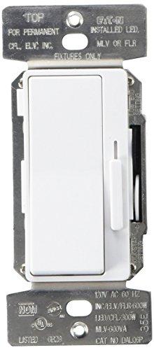 Eaton DAL06P-C5 Al Series Single Pole/3-Way Decorator Dimmer Switch, Color Kit, Multi
