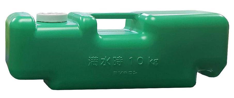 ミツギロン 屋外看板用 注水式重石 バリストン SF-22 グリーン