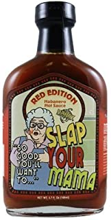 Slap Your Mama Hot Sauce Red Edition