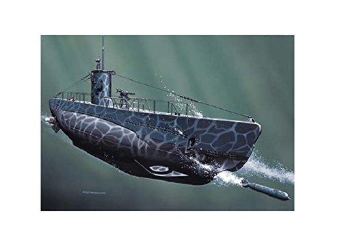 Mirage Hobby 40025, 1: 400 échelle, U60 type C II de sous-marin allemand, kit de modèle en plastique