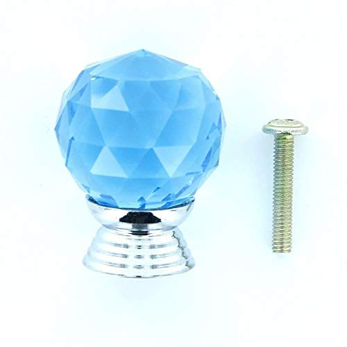 Nieuwe Aankomst Vierkant Clear Kristal Glas Kabinet Knop Kast Lade Deur Garderobe Trek Handvat Hoge Kwaliteit