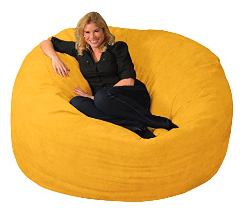 Chill Sack Bean Bag Chair: Giant 6' Memory Foam Furniture Bean Bag - Big Sofa with Soft Micro Fiber...