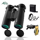 BFULL 10x42 Compact Binoculars for Adults, Powerful Binoculars with...