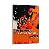 HUHUHU Film-Leinwand-Poster mit Dirty Harry (1971),