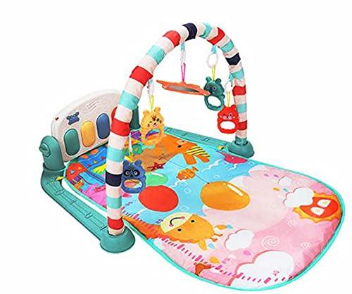 SaySure Estera de juego con teclado de piano alfombra de bebé rompecabezas de música Mat educativo rack juguetes bebé gatear Mat regalo para niños gimnasio