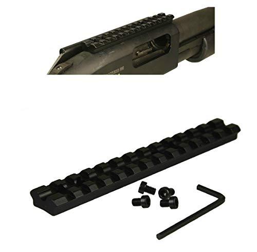 DB TAC INC Black Color Scope Sight Top Picatinny/Weaver Rail Mount Mossberg 500 590 Maverick 88