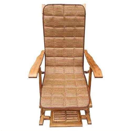 Liegestuhl Sommer Outdoor Dampfer Recliner Relaxer Klapp Recliner Freizeitliege Streamlined Armlehne Sessel für Patio Mittagspause, Gartenmöbel