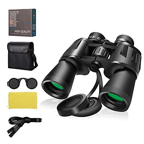 10x50 Binoculars, Binoculars for Adults, HD Waterproof Professional, Powerful Compact Binoculars for Bird Watching Hunting Travel Outdoor Sports Games and Concerts