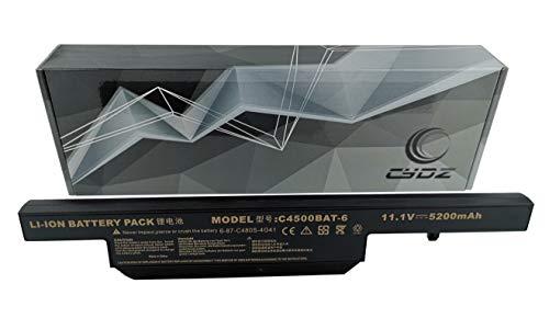 CYDZ® 5200mAh 11.1V C4500BAT-6 C4500BAT6 Laptop akku für Clevo Schenker XMGA501 XMGA500 XMGA502 XMGA700 XMGA701 XMGA702 500Entry 510Entry E500 E510 XMGA501 B401 B512 E7130 A500 A501 A502 A701 A702
