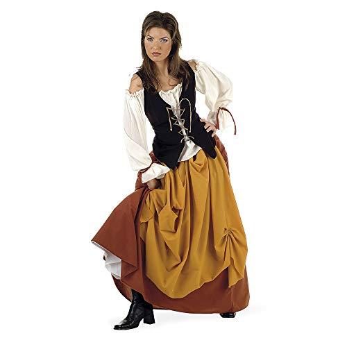 Limit médiéval Costume Paysanne (X-Large)