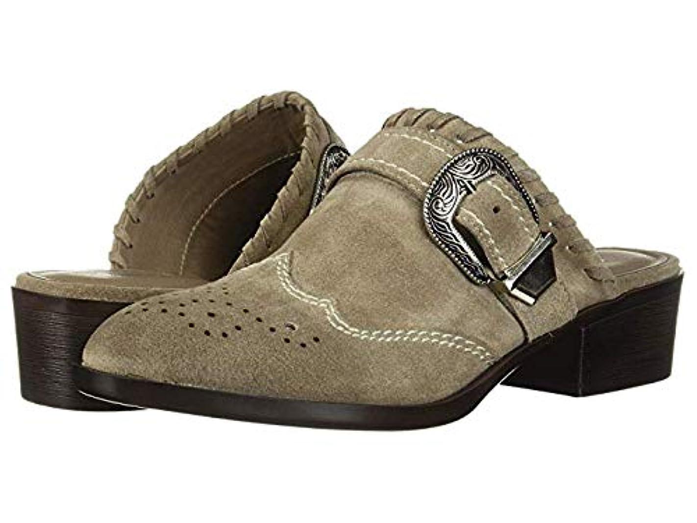 ご覧ください診断するデザイナーレディースローファー?靴 Waltz Split Suede Heather Grey (23.5cm) B - Medium [並行輸入品]