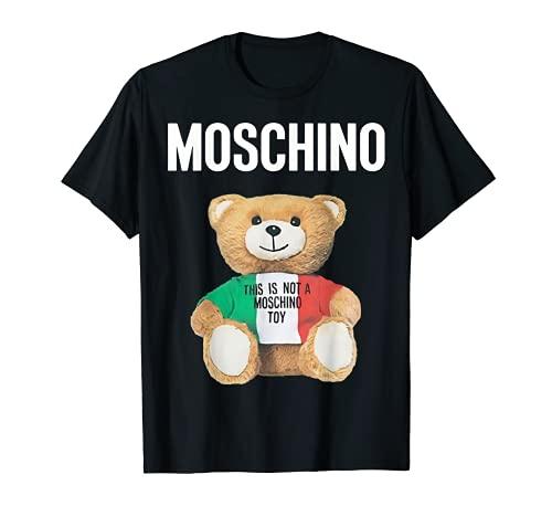 Not a Toy Bear モスキーノのおもちゃのクマではありません Camiseta
