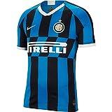NIKE Inter Milan 2019/20 Stadium Home Camiseta de Manga Corta, Hombre, Multicolor (Blue Spark/White), S
