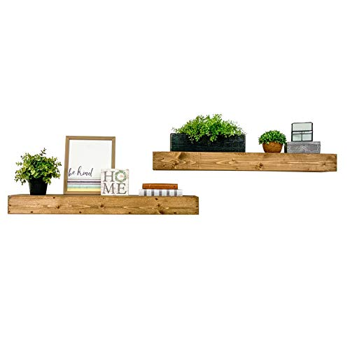Black or Distressed Black U Pick Size Rustic Faux Wood Beam Floating Shelf Fireplace Mantel Mantle