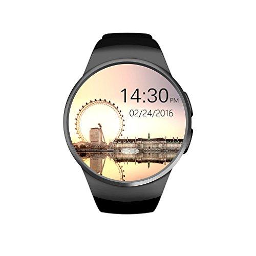 Los hombres de impermeable inteligente Relojes, remoto de la cámara/Reloj despertador/Sleep vigilancia relojes digitales, negro pulsera reloj Digital