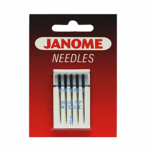 Janome Sewing Machine Blue Tip Needles - Size 75/11 Part Number: 9903111000