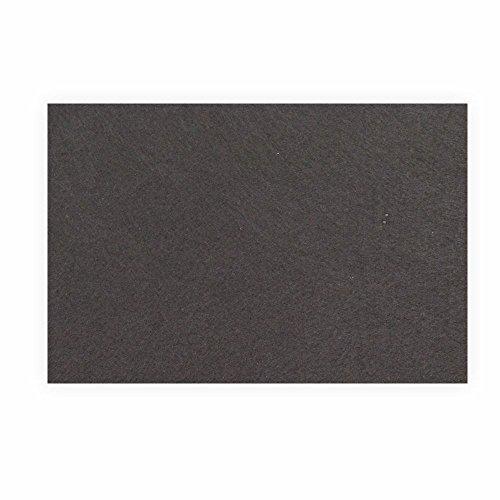 Preisvergleich Produktbild Filz zum basteln selbstklebend A4 schwarz Klebefilz farbig - Weich und Wasserabweisend,  Filzplatten Selbstklebend Filzgleiter für DIY-Basteln