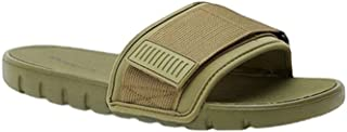 Shoexpress Men's Slip-on Textured Slides