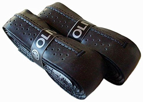 Oliver Supergrip Basisgriffband mit Konturrille 2 Stück schwarz
