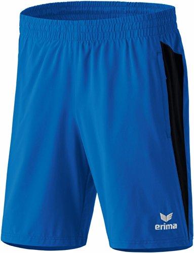 Erima Shorts Premium One, New Royal/Schwarz, M