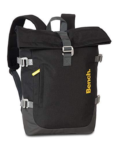 Bench Travel Rucksack für Tablet und Co 42 cm grau mit Roll-Top-System 64163-1700