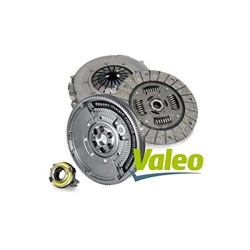 Kit frizione originale VALEO, Kit 4P, Kit 3pz + volano motore bimassa (KFS016)
