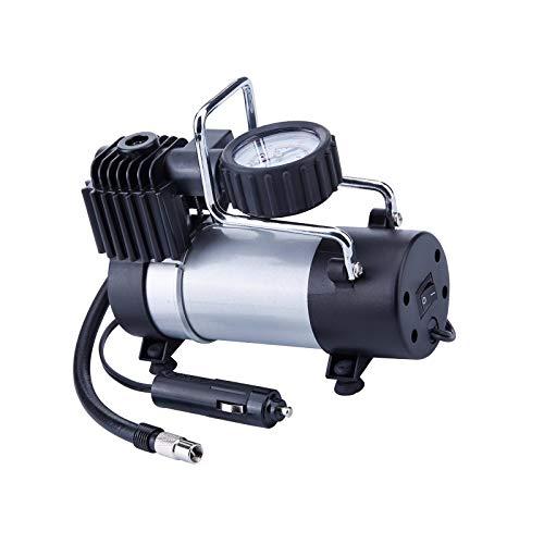 Compresor de aire portátil de la bomba de metal de la impulsión directa del inflador del neumático 12v