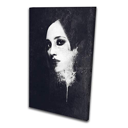 Quadro Decorativo Mulher Sutil Arte Moderna