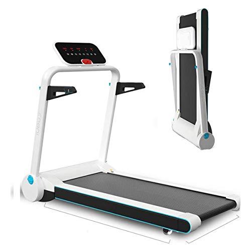 Huishoudelijke multifunctionele loopband, elektrische opvouwbare kleine fitnessapparatuur, geschikt voor thuis, kantoor, sportschool