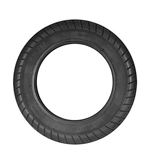 PopHMN Rueda de neumático de Scooter Delantero/Trasero de 10 Pulgadas, neumático de...