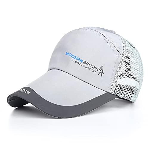 VSDFS Sju Skurkar Golf Baseball Netto Mössa Mode Vilda Fiske Utomhus Solskydd Mössa 54-62Cm Grå Online Betalning