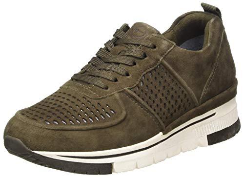 Tamaris Damen 1-1-23745-25 Sneaker, grün, 39 EU
