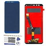 Draxlgon Completo di Riparazione e Sostituzione LCD Display Touch Screen Digitizer Assemblea per Huawei Honor 9 Youth Edition LLD-AL10/Honor 9 Lite LLD-L31 ?(Blu)