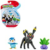 NEW Pokemon Battle Figure Set Umbreon,Oddish