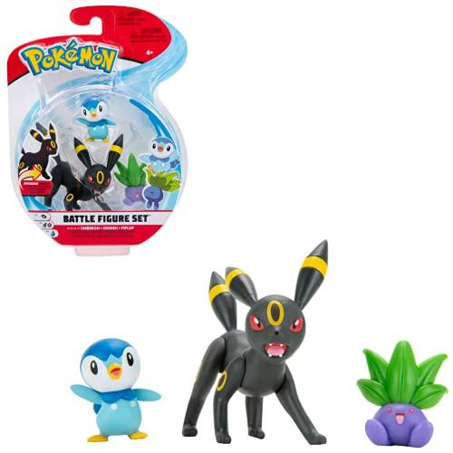 NEW Pokemon Battle Figure Set Umbreon,Oddish