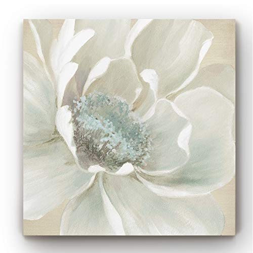 Canvas Wall Art, Wall Décor Canvas, Modern, Contemporary, Rustic, Romantic, & Industrial, Ready to Hang - Winter Blooms I 24X24