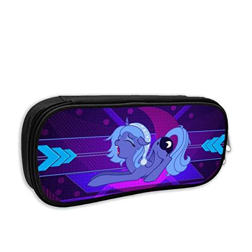 My Little Pony, astuccio portamatite da viaggio, in stile viola, adatto per scuola, viaggi, escursioni