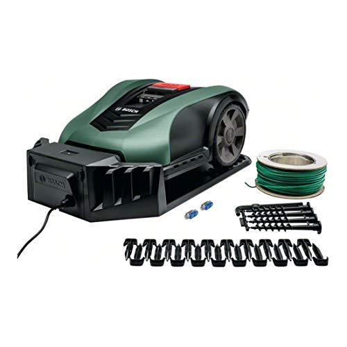 Bosch Roboter Rasenmäher Indego M 700 (19 cm Schnittbreite, für Rasenflächen bis 700 m², Schnitthöhe 30-50 mm)